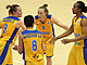 6. Frida Eldebrink (Sweden), 7. Ashley Key (Sweden), 8. Kadidja Andersson (Sweden), 9. Elin Eldebrink (Sweden)